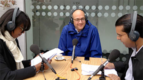 Omar Al Qattan, Chair of Shubbak, speaks about Shubbak on BBC Arabic Radio Xtra