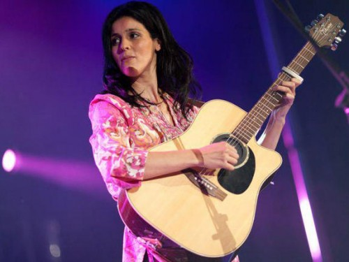 Algerian singer-songwriter Souad Massi was one of many Arab artists hitting up this year's Shubbak Festival Image: Facebook.