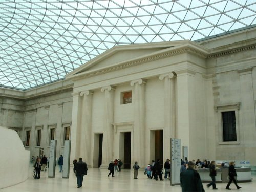 Shubbak at British Museum: The Great Court, South Portico