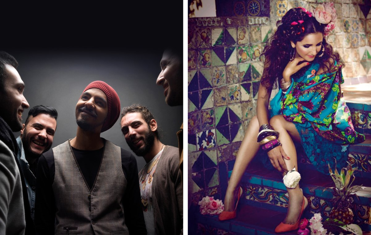 Cairokee and Tania Saleh