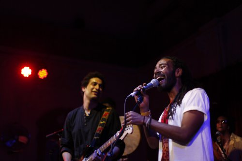 Hawidro and Rasha play Shubbak's 2017 Festival