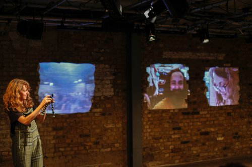 Three Rooms by Amal Omran, Hatem Hadawe and Kathryn Hamilton at the Arcola Theatre, 2017