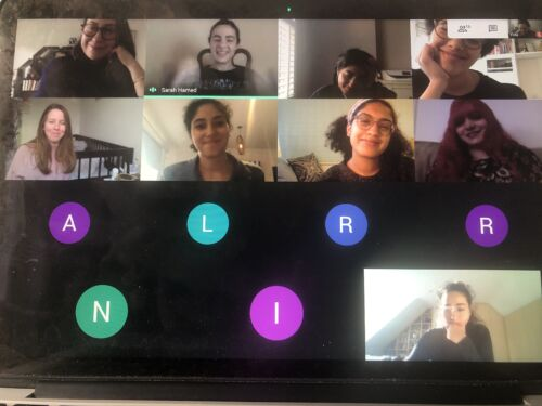 A screenshot of a Zoom meeting in progress
