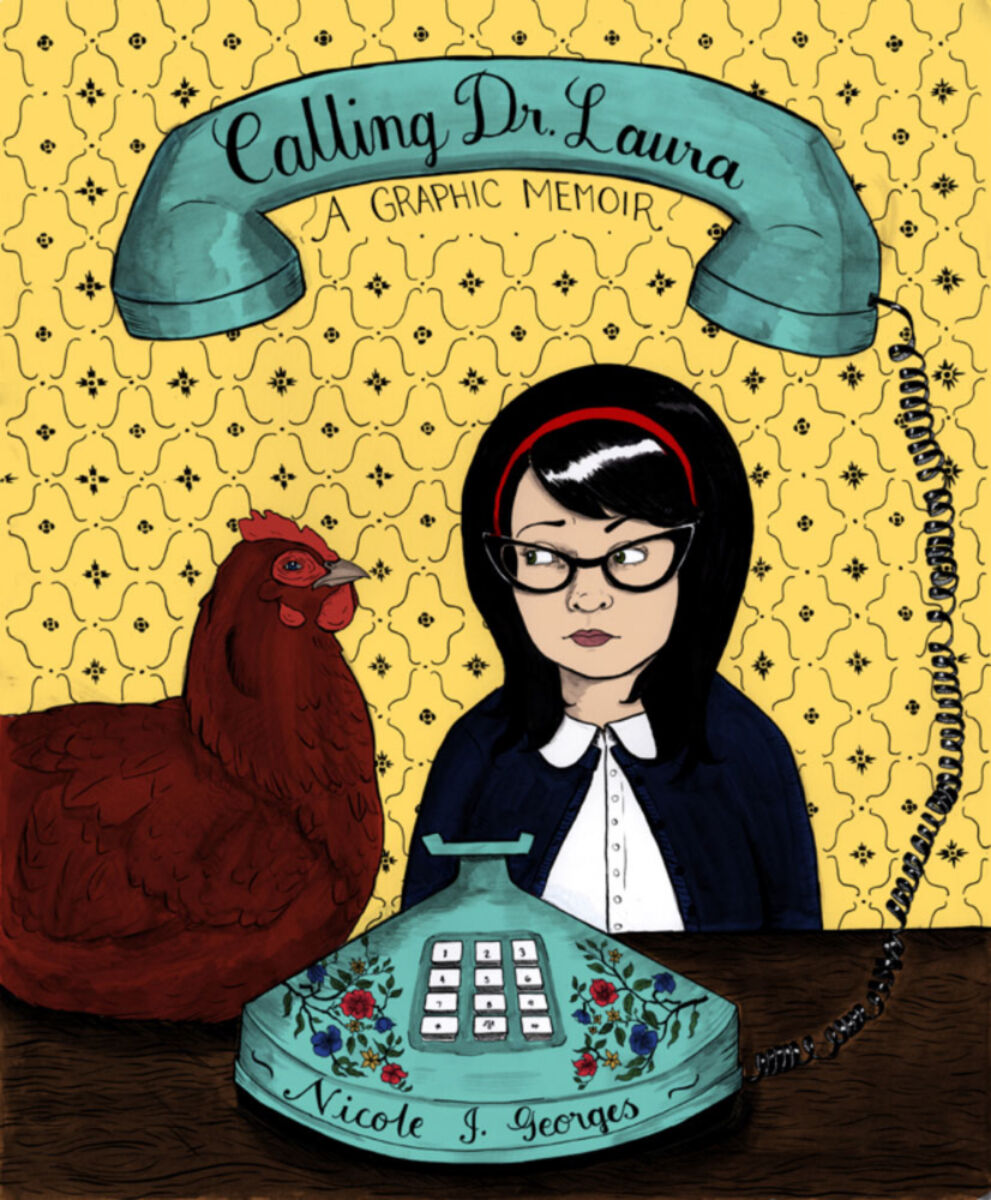 Colourful illustration - Calling Dr Laura - A graphic practice