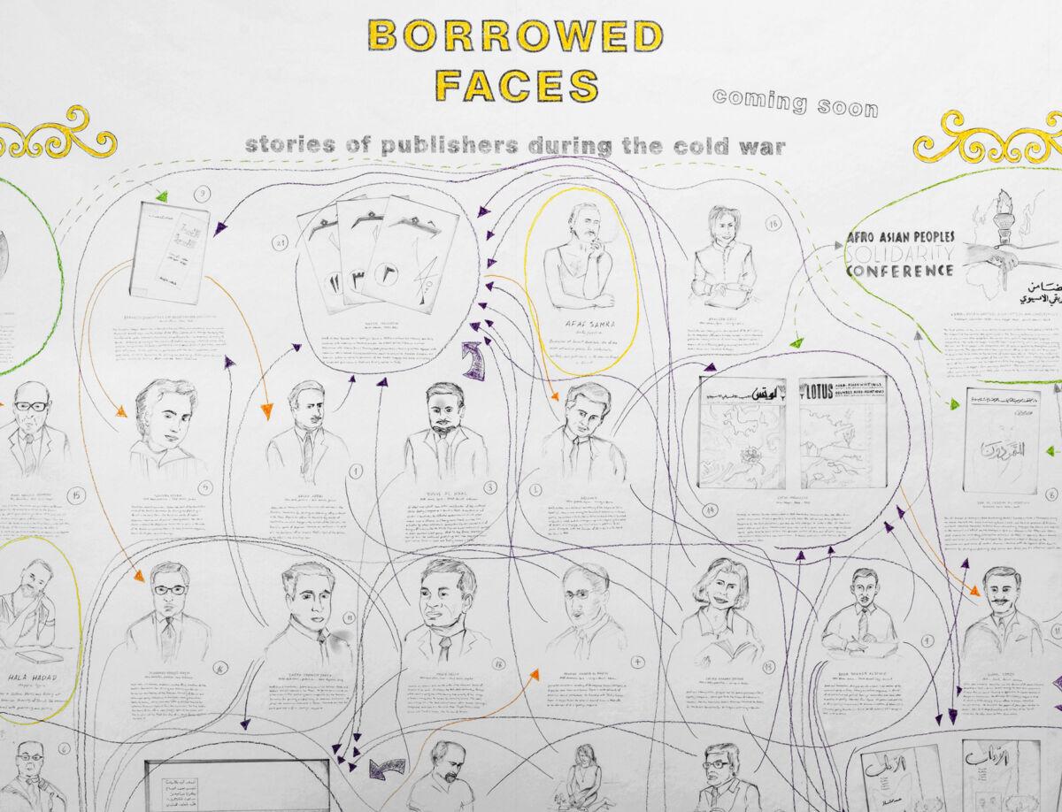 Borrowed Faces illustration