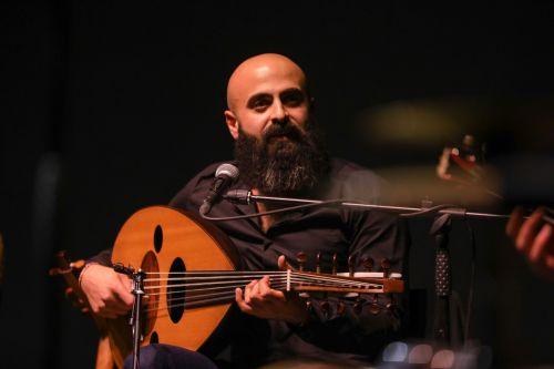 Oud player Saied Silbak
