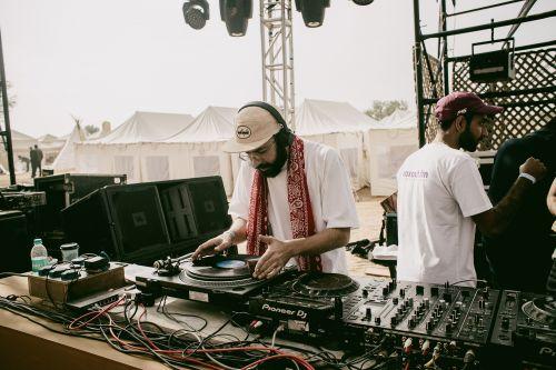 Portrait of a DJ